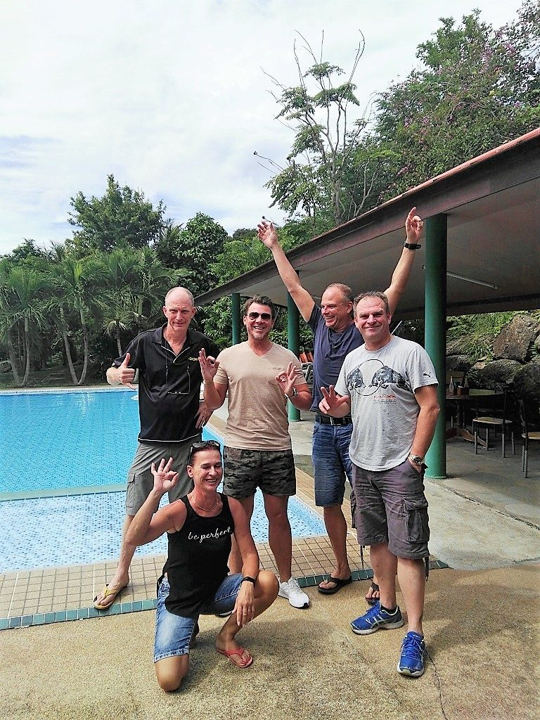 Candidates from various PADI IDC's