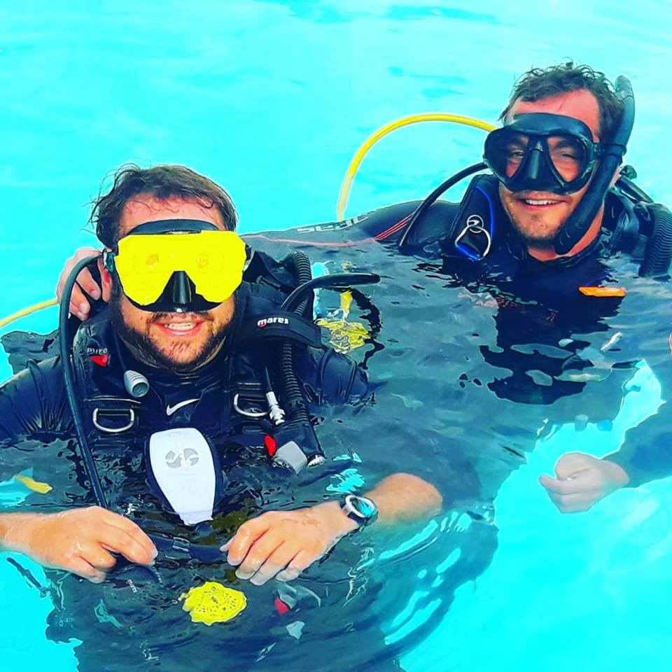 PADI Adaptive techniques course at Thresher Cove Resort