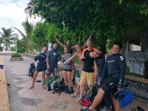 November 2019 PADI IDC on Malapascua started