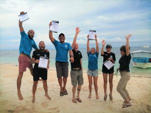 PADI IE December 2019 on Malapascua very successful