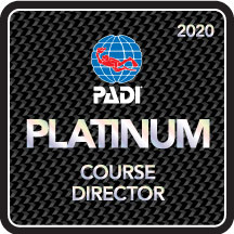 PADI Course Director Camille Lemmens