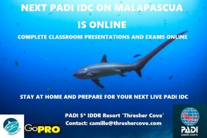 Start your PADI IDC online